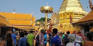 Doi Suthep temple, Chiang Mai-Thailand