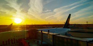 Visit the Frankfurt airport