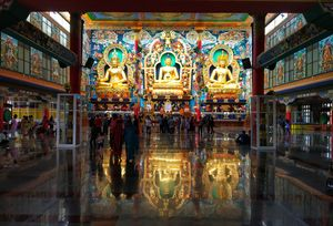 Largest teaching center of the Nyingma lineage of Tibetan Buddhism in the world