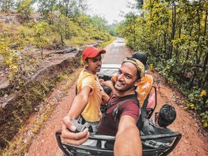 The Adventurous Selfie! #SelfieWithAView #TripotoCommunity