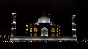 The Taj Mahal from Eco Park , Kolkata, West Bengal