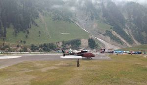 Amarnath - Sequence of Events - Sonamarg - Baltal Helicopter Base - Day 2 - P2