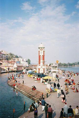 Haridwar and Ganga Aarti! Photo credit Dinkar Kamani