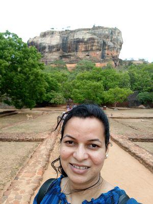 #SelfieWithAView #LionsRock #Sigiriya