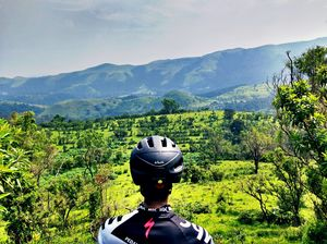 Cycling to Kudremukh National Park