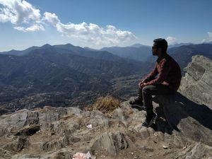 beautiful views of Mukteshwar