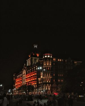 Mumbai- I see a long lost home in her eyes . She sees a nice hotel in mine.