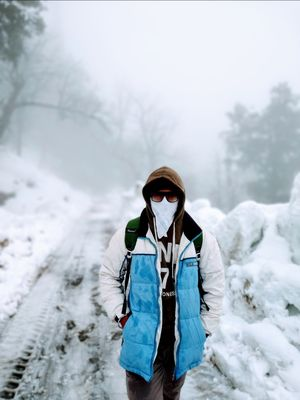 Beauty is also called Chopta in Snow