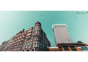 The Taj Mahal palace hotel and Tower