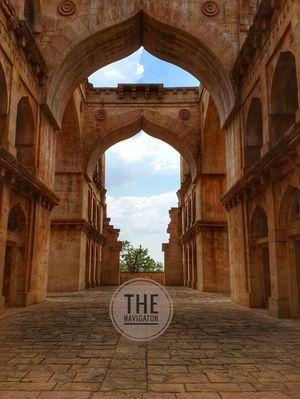 Koshak Mahal, Chanderi Madhya Pradesh. Pin:473446