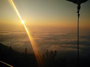 Nandi Hills - The heavenly Sunrise point near Bengaluru #notinnorth