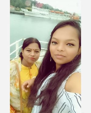 One of the many selfie's I clicked on cruise at Port Blair ❤ #TripotoCommunity #SelfieWithAView