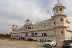 Rani padmini palace on chittorgarh fort.