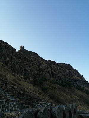 Rajgad night trek - a fort fortified on all sides with forts!