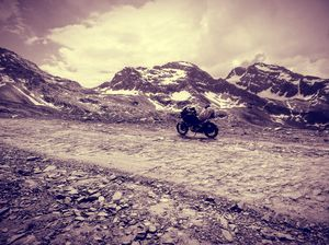 The worst roads does take you to the best destinations. Pangi Valley, Cliffhanger, Himachal Pradesh.