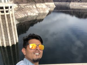 #SelfieWithAView and #TripotoCommunity The Famous Hoover Dam