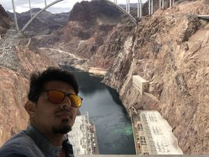 #SelfieWithAView and #TripotoCommunity The Hoover Dam