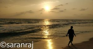 Heaven at the border of Tamilnadu - Kerela and Mesmerising beauty of Varkala beaches