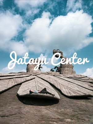 Jtayu Earth Center (Statue in Heaven )(Worlds biggest Bird Sculpture)