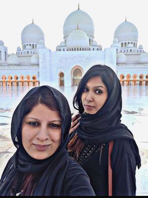 Beauty of Shaikh Zayed Mosque #SelfieWithAView #TripotoCommunity