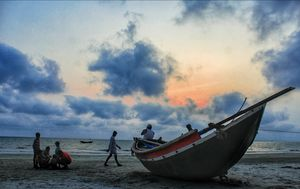 "It is the secret beach of Bengal.""MOUSUNI ISLAND"""