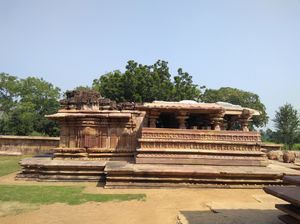 One of 11th Century and Ancient Temple, Ramappa Temple.