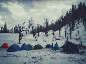 Juda Ka Talab – The first camp on Kedarkantha Trek