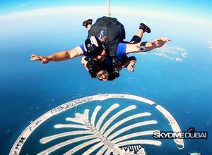 Skydive Dubai- the best view from 13000 feet.