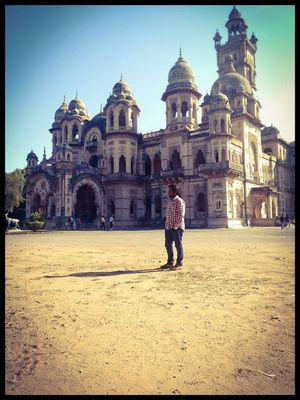 Truly Majestic.. Welcome to the Laxmi Vilas Palace, Vadodara, Gujarat