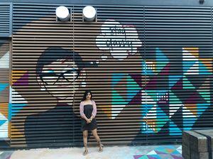 Open air canvas for world's best street art - La Mer , Dubai #streettalk