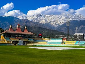 Most scenic Cricket ground in India- HPCA Cricket Stadium, Dharamshala, HP.