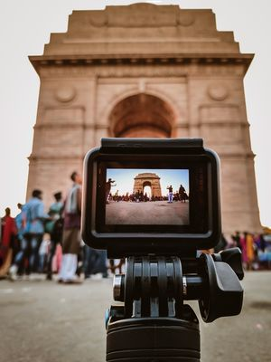 A sunday at India Gate