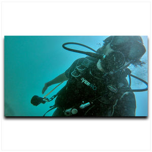 Experience the world beyond imagination, with scuba diving! #SelfieWithAView  #TripotoCommunity