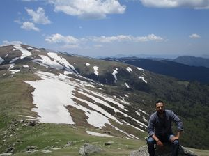 Doubling : A Ride to Chanshal Valley. That feeling when you scale the highest peak of Shimla.