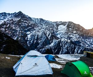 Have you ever stayed in Tents ?