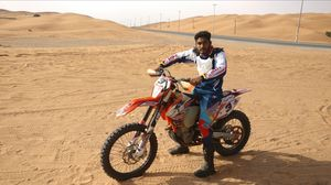 Dubai Desert Motorbike Enduro #learningholiday