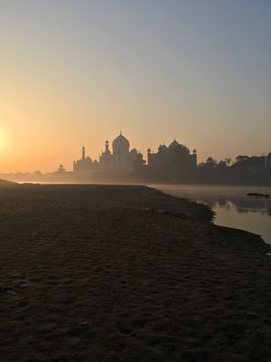 Tajmahal: One of the Seven Wonders of the world.