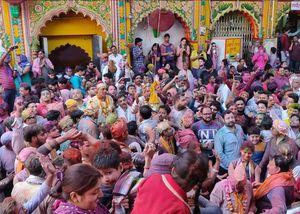 Celebrate Holi like never before  in Mathura - Vrindavna