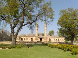 Glimpse of ancient Champaner Town