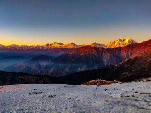 Golden Mountains : Winter Trek
