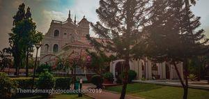 The aga Khana Palace...