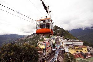 The Gangtok ropeway