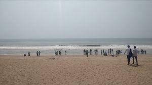 Chandrabhaga beach , odisha