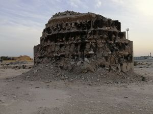 travel to old building ruins @ Qatar
