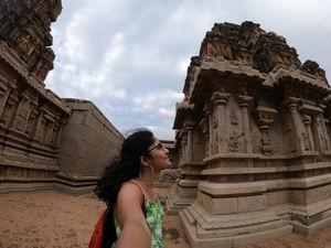 Hazari Rama Temple, Hampi. #SelfieWithAView #TripotoCommunity