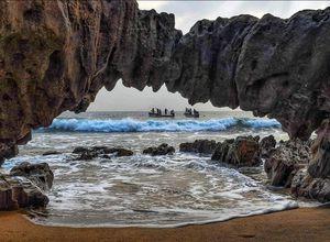 Nature Rock formation, Vishakapatanam.