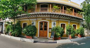 Pondicherry:Love for french town and beaches #pondiphotos