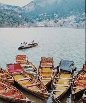 MESMERIZING LAKE OF NAINITAL