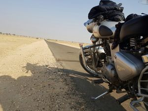 Royal Trip on Royal enfield