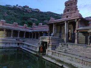 Yaganti-known for Nandi idol increasing its size as time passes